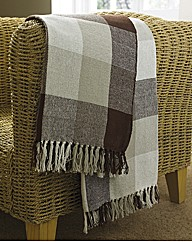 Country Check Throw Buy One Get One Free