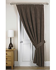 Chenille Spot Thermal Door Curtain
