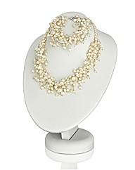 Freshwater Pearl Necklet & Bracelet Set