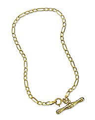 9ct Gold T-Bar Bracelet