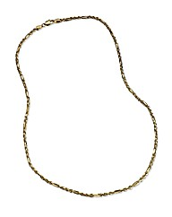 9ct Gold Twisted Link Chain