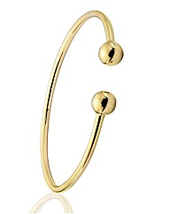 9ct Gold Childs Torque Bangle