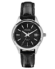 Pulsar Gents Kinetic Black Watch