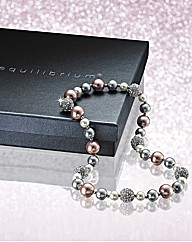 Glitzy Ladies Bead Necklace