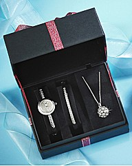Limit Ladies Watch & Jewellery Set