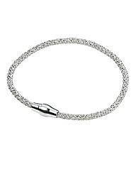 Sterling Silver Popcorn Bracelet