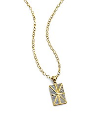 9 Carat Gold Union Flag Pendant
