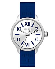 Versus Gents Blue Rubber Strap Watch