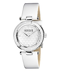 Versus Ladies Leather Strap Watch