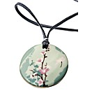 Kaolin Pink Flower Branch Design Pendant