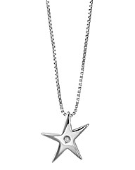 Hot Diamonds Star Pendant
