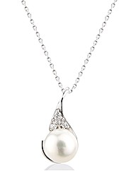 So Jewellery Silver Pearl Pendant