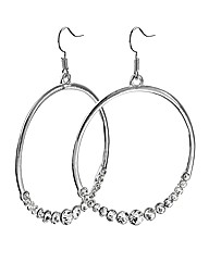 Sparkly Hoop Earrings
