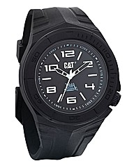 Caterpillar Gents Rubber Strap Watch