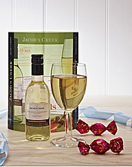 Jacobs Creeks White, Glass & Chocolate