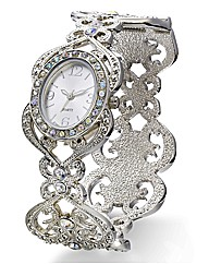Glitzy Bangle Watch