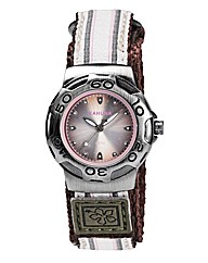 Kahuna Ladies Brown Rip Strap Watch