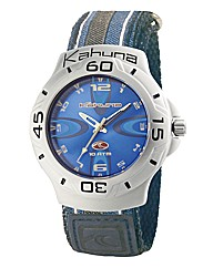 Kahuna Gents Blue Rip Strap Watch