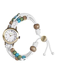 Kahuna Ladies White Friendship Watch