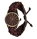 Kahuna Gents Brown Leather Watch