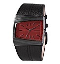 Kahuna Gents Black Strap Watch