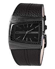 Kahuna Gents Brown Strap Watch