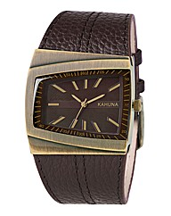 Kahuna Gents Brown Dial Watch