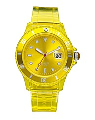 Bright Colour Jelly Watch
