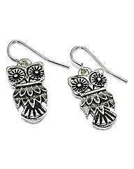 Wisdom Owl Earrings