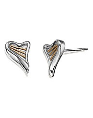 Clogau Silver Heartstring Earrings