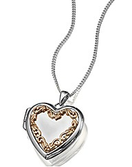 Clogau Silver One Heart Locket Pendant