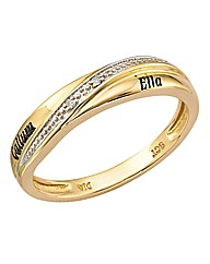 Precious Sentiments Ladies Wedding Band