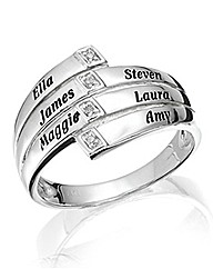 Precious Sentiments Sterling Silver Ring