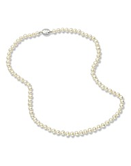 Jersey Pearl Classic 5mm Pearl Necklace