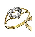 9ct Gold Small Heart Ring