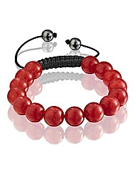 Gents Gemstone Bead Bracelet