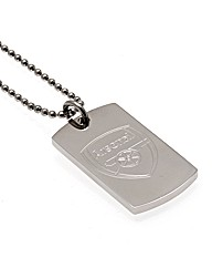Stainless Steel Gents Football Pendant