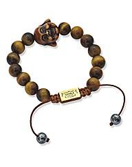 Shimla Tigers Eye Buddha Bracelet