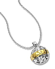 Sphere of Life Love You Braille Pendant