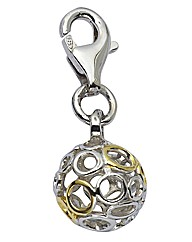 Sphere of Life Silver Eternity Charm