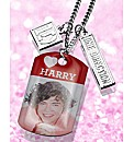 One Direction Pendant & Bracelet Set