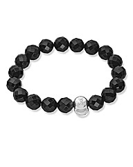 Sphere of Life Silver Gemstone Bracelet