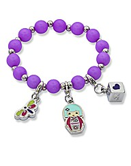 Kimmydoll Junior Stretch Charm Bracelet