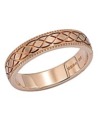 9ct Gold Ladies Heavyweight Wedding Band