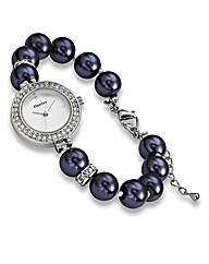 Faux Pearl Watch
