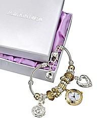 Mackintosh-Style Charm Bracelet Watch