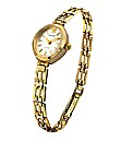 Accurist Ladies 9ct Gold Bracelet Watch