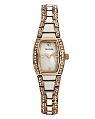 Sekonda Ladies Rose-Tone Bracelet Watch