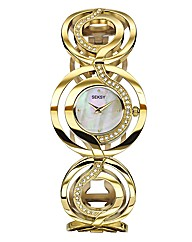 Seksy Ladies Gold-tone Bracelet Watch