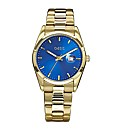 Oasis Ladies Gold-Tone Bracelet Watch
